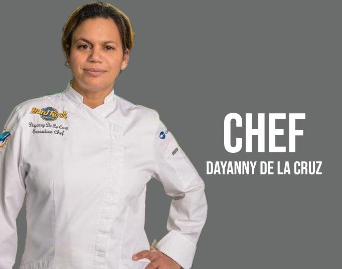 Chef Dayanny de la Cruz
